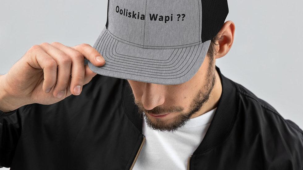 Ooliskia Wapi Trucker Cap