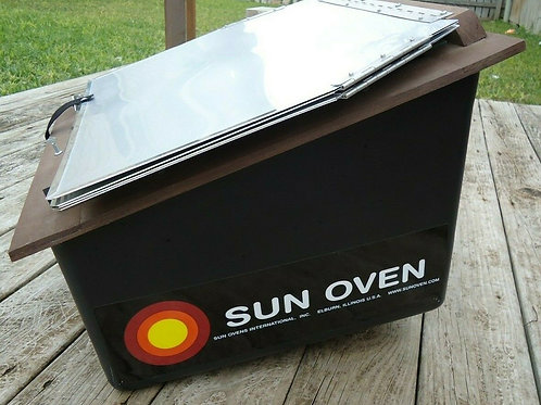 Sun Oven: Small Scale Cooking