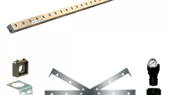 Long  316 Stainless Steel Super Air Knife Kit