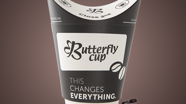 Butterfly Cups  (50 pcs)