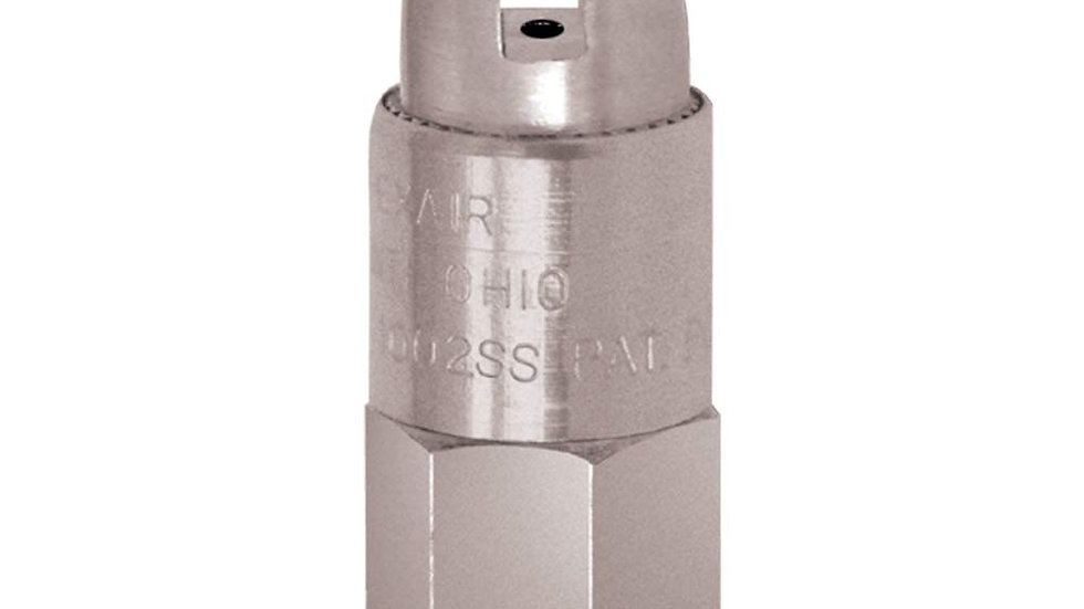 Stainless Steel Safety  Air Nozzle, 1/4 FNPT