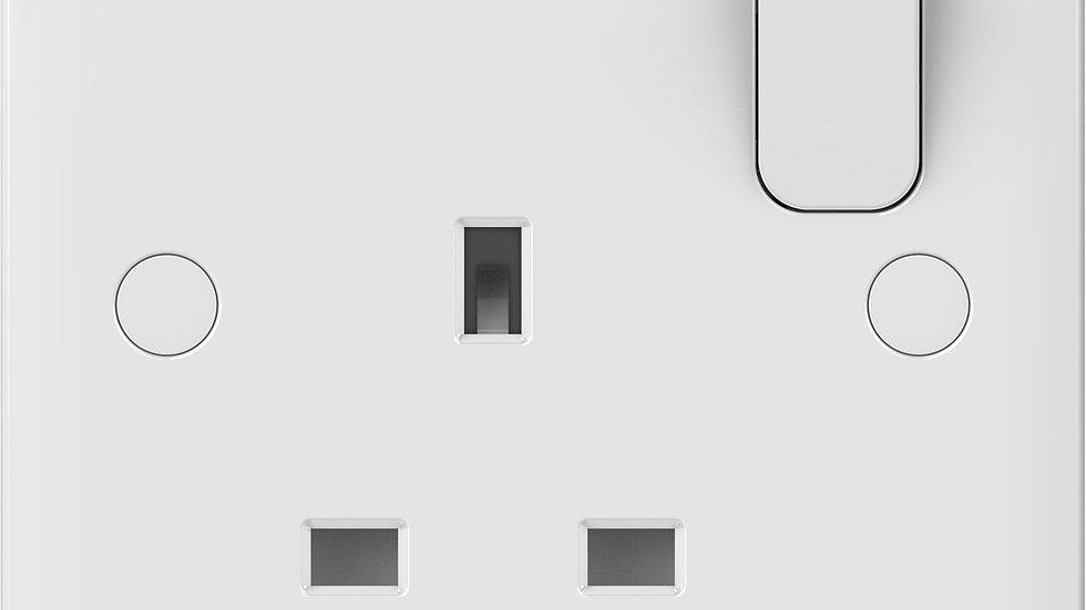 Lisse 1Gang DP Switched Socket (5pcs)
