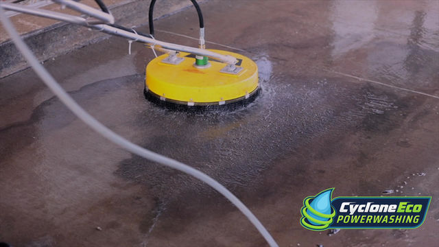 The Area's No. 1 in Commercial Power Washing