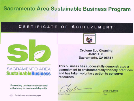 Cyclone Joins BERC as a Sacramento Sustainable Business!