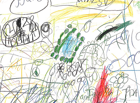 6-year-old boys' drawing