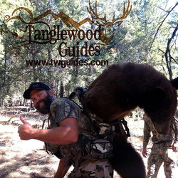 Who doesn't love coming out heavy_ #epicmoment #tanglewoodguides #lovewhatyoudo #washingtonbear #fou