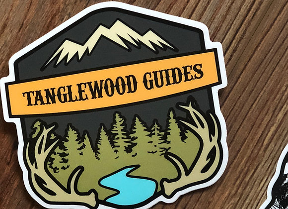 Tanglewood badge decal