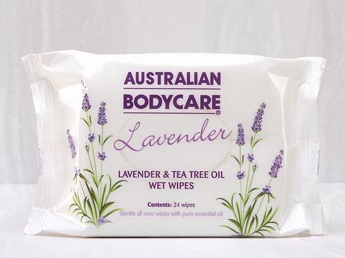 Lavender Body Wipes