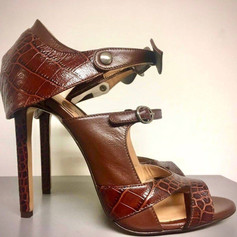 Womens Chocolate Brown Designer Shoes