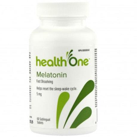 H One Melatonin 5mg Tabs 60's