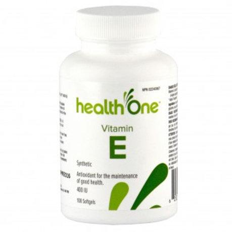 H One Vitamin E400IU Synthetic 100's