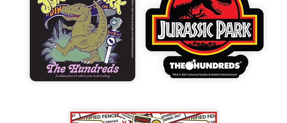 The Hundreds Jurassic Park Sticker Pack