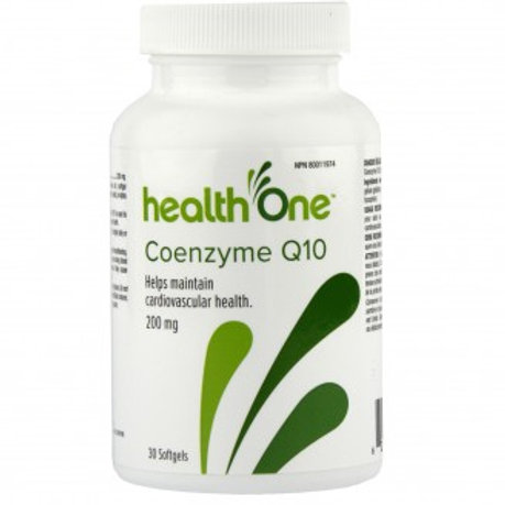 H One Coenzyme Q10 200mg 30's