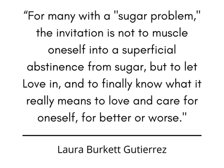"""Deeper perspectives on """"sugar problems"""""""