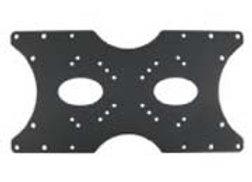 Master Mounts 103 Large Pattern Adapter Plate, Fixed/Flat
