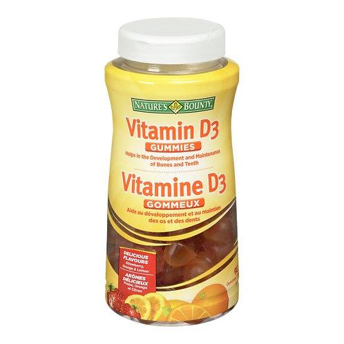 Nature's Bounty Vitamin D Gummies 90's