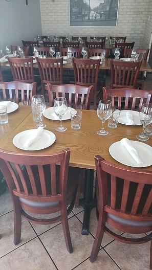 My Recipe Italian Restaurant Seating | Indoor Dining