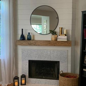 Custom Fireplace Mantel