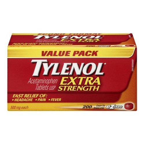 Tylenol Extra Strength 500mg Tabs 200's