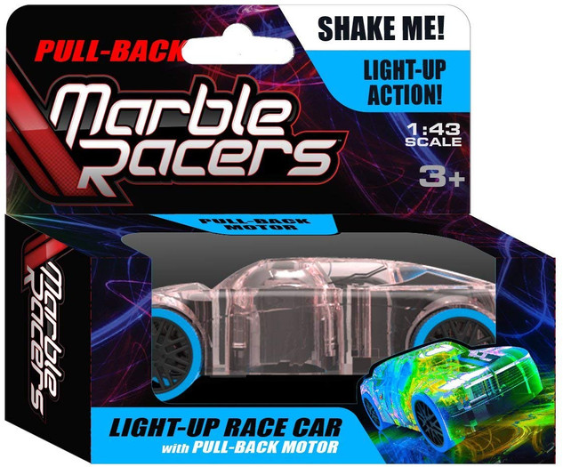 Pull-Back Marble Racer Blue - SD Toyz