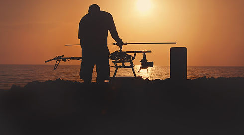 Keith Colodny And Camera Drone | Precision Aerial Filmworks