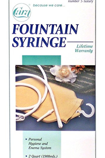 Fountain Syringe and Hot Water #4503