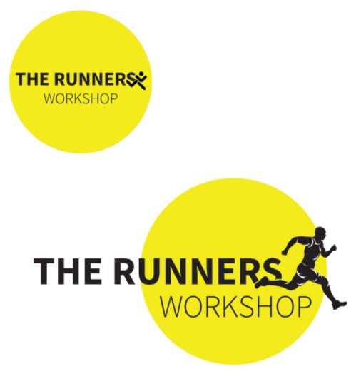 Final Running Man Logo Design