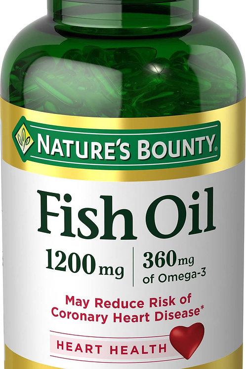 Nature's Bounty Omega 3 Fish Oil 100's
