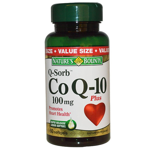 Nature's Bounty COQ10 100mg 90's