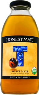 Honest Mate Agave Mate From Honest Tea Bottle