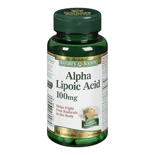 Nature's Bounty Alpha Lipoic 90's