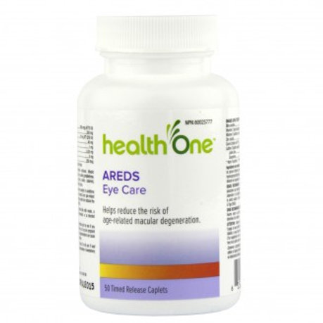 H One Areda Eye Care Form Tab 50's
