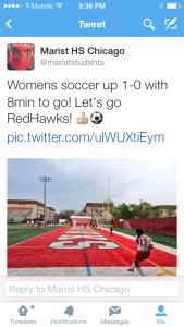 Megan tweet soccer