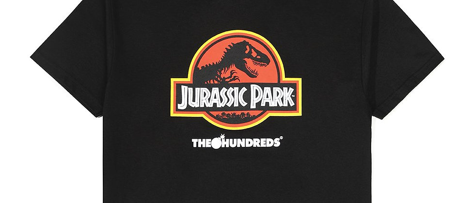 The Hundreds Jurassic Park Logo T-Shirt