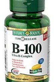 Nature's Bounty B100 Ult B Tab 100's