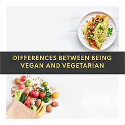 Differences between being vegan and vege