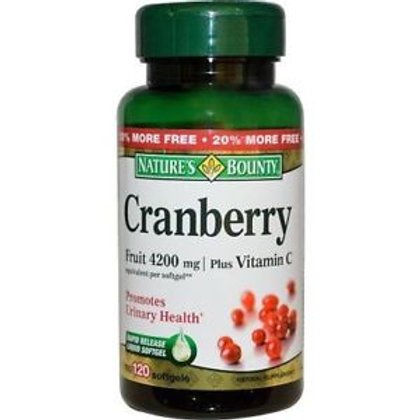 Nature's Bounty Cranberry and Vitamin C 200's
