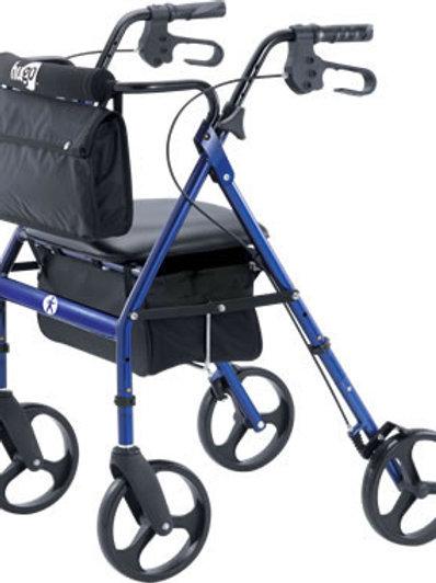 Hugo Rollator Elite - Blue