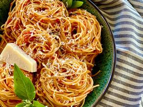 Pasta Pomodoro with Tomato Confit