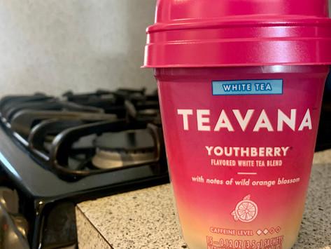 Teavana Youthberry White Tea Review