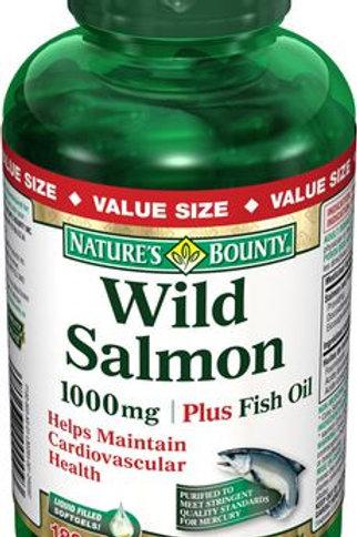 Nature's Bounty Wild Salmon 180's