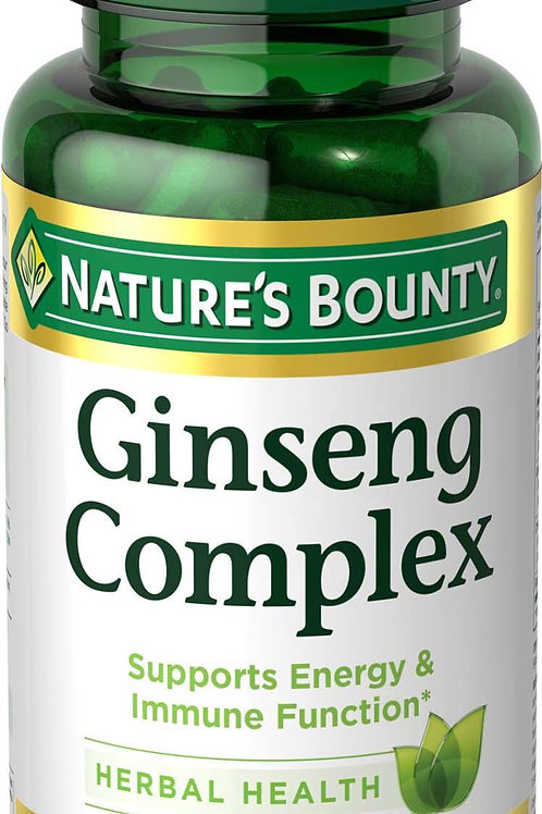 Nature's Bounty Ginseng 50's