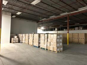 pegasus infrastructure candian warehouse