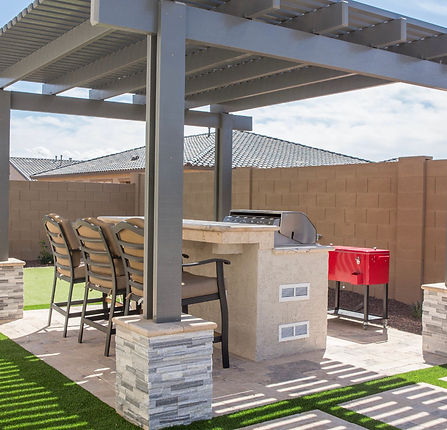1- Shade Structures Pergola with Outdoor