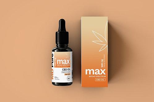 MAX CBD Oil (THC Free)