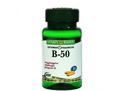 Nature's Bounty Vitamin B-50 100's