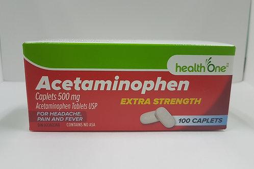 H One Acetaminophen Extra 100's