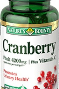 Nature's Bounty Cranberry 100's