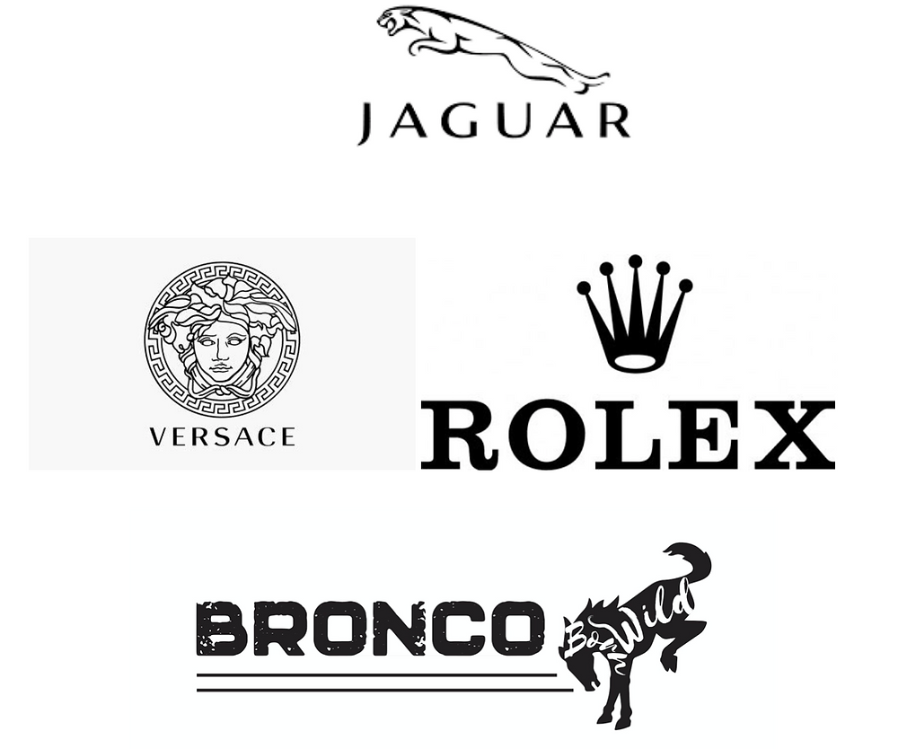 Famous Logos Brands   Black and White Logos   Black and White Logo Design   Monochrome Logo