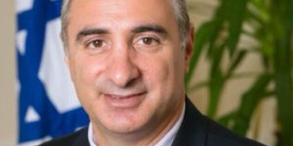 Israel Ambassador Eitan Na'eh
